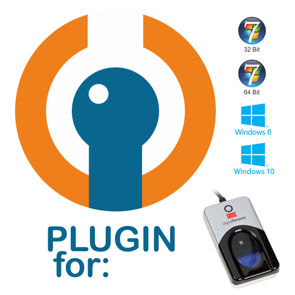Plugin for Crossmatch Digital Persona U.are.U 4500 Fingerprint Reader